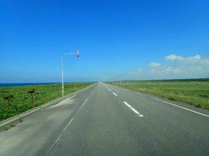 サロベツ原野付近 北海道の車中泊を考える