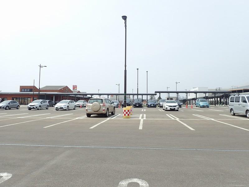 道の駅 きこない 駐車場