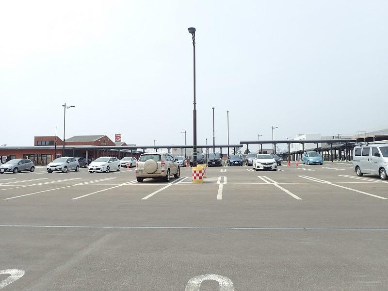 道の駅 みそぎの郷 きこない 駐車場