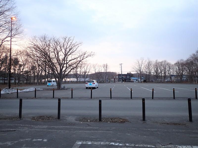 道の駅_ウトナイ湖_第二駐車場