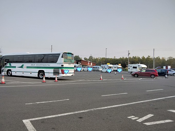北海道 車中泊 キャンピングカー 道の駅 ニセコビュープラザ ブログ 駐車場