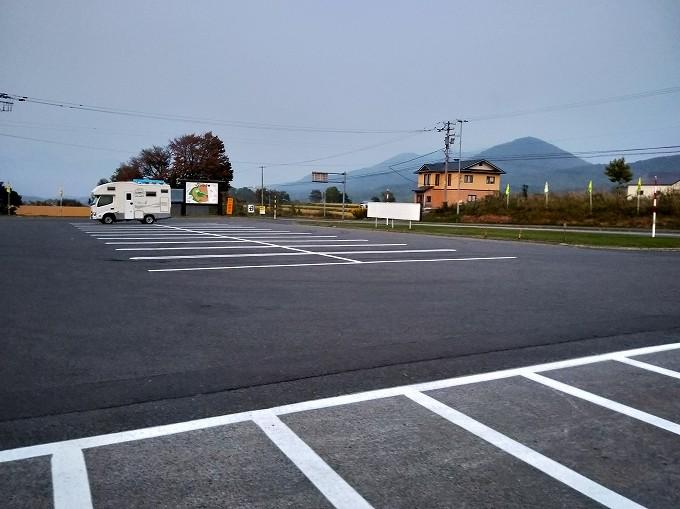 北海道 車中泊 キャンピングカー 道の駅 らんこし・ふるさとの丘 ブログ